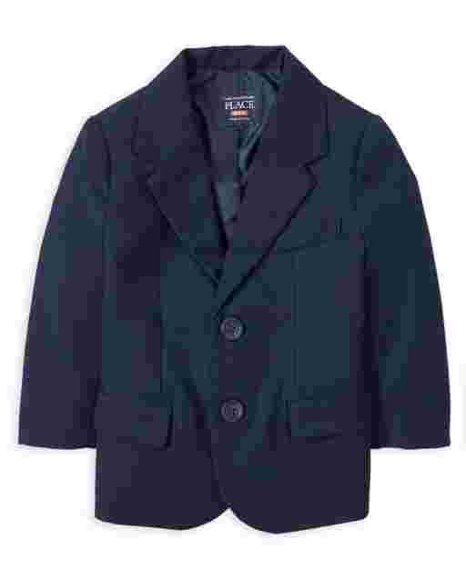 Toddler Boys Uniform Long Sleeve Blazer