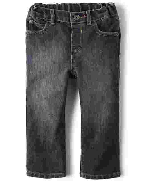 Baby And Toddler Boys Basic Straight Jeans