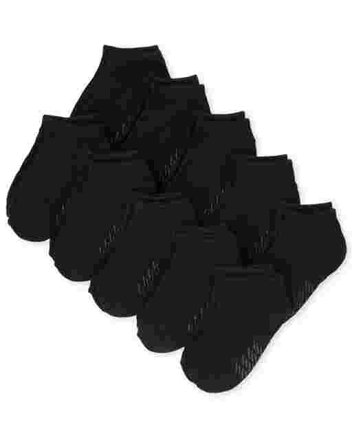 Unisex Baby And Toddler Ankle Socks 10-Pack