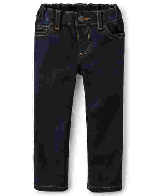 Baby And Toddler Girls Basic Super Skinny Jeans - Blueberry Wash