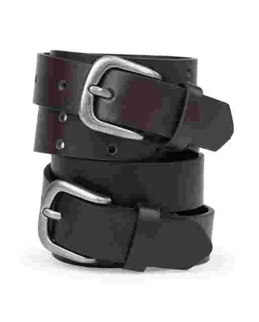 Boys Uniform Belt 2-Pack