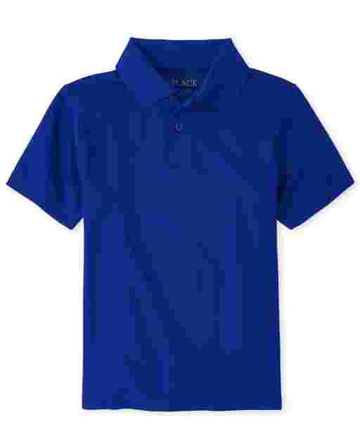 Boys Uniform Short Sleeve Performance Polo