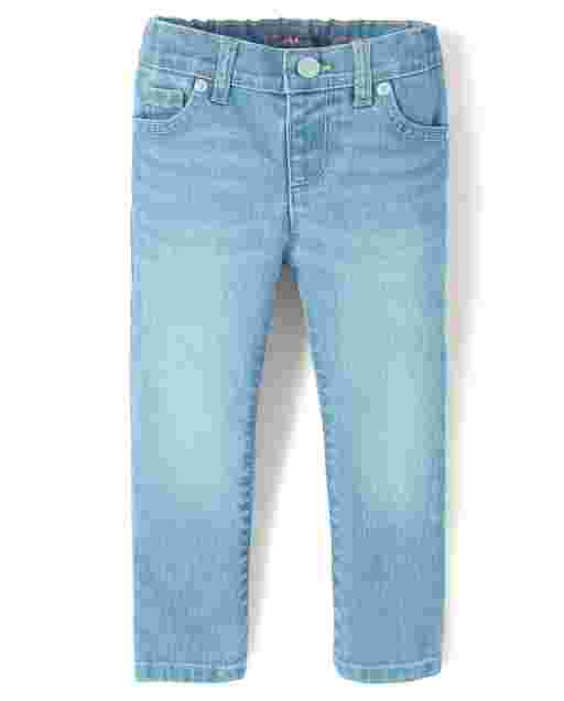 Baby And Toddler Girls Basic Super Skinny Jeans - Jayblue Wash