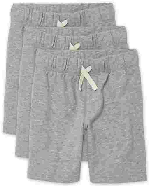 Boys French Terry Shorts 3-Pack