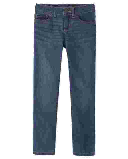 Girls Basic Skinny Jeans - Medium Lara Wash
