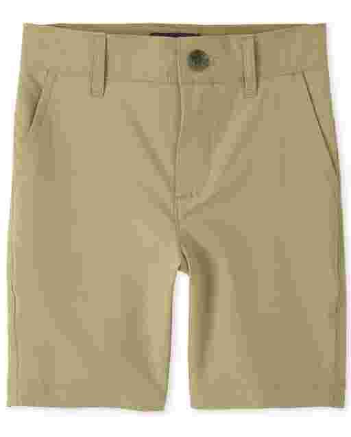 Boys Uniform Quick Dry Woven Chino Shorts