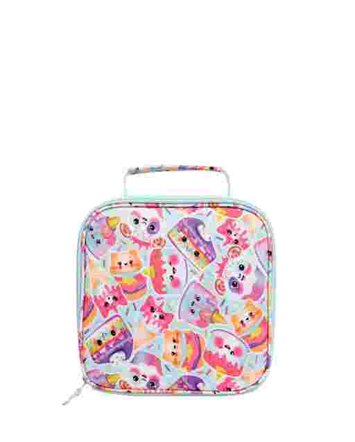 Girls Dessert Squishies Print Lunch Box