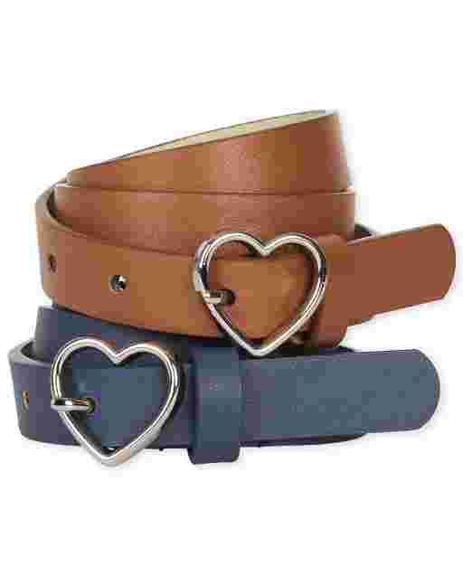Girls Uniform Belt 2-Pack