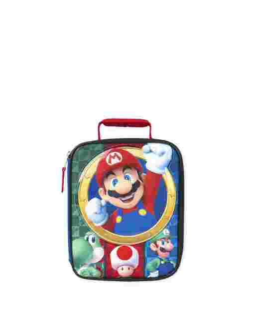 Boys Mario Lunch Box