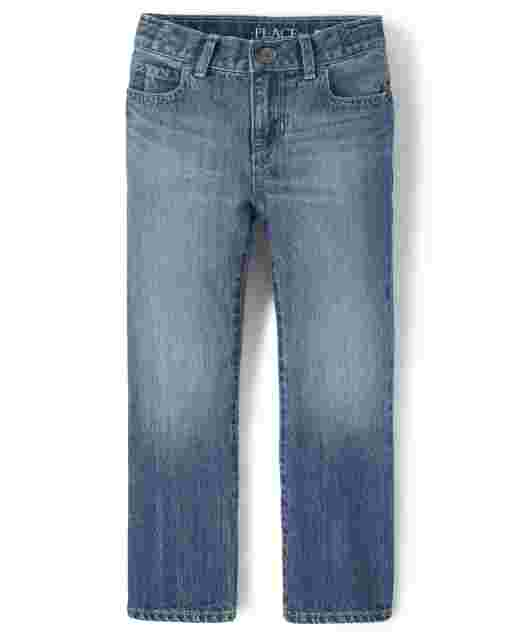 Boys Basic Bootcut Denim Jeans - Pierce Wash