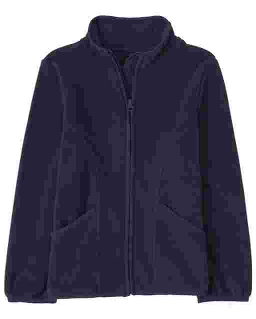 Girls Uniform Long Sleeve Furry Favorite Jacket