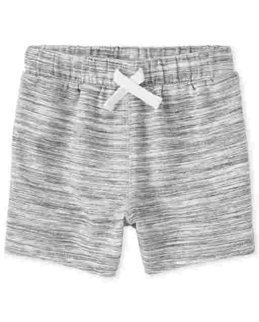 Baby And Toddler Boys Marled French Terry Shorts