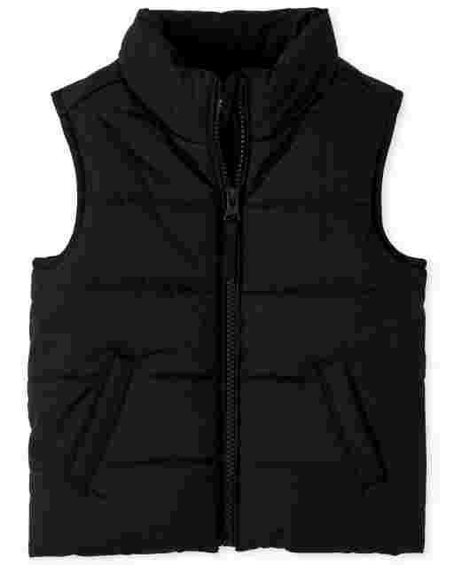 Toddler Girls Sleeveless Puffer Vest