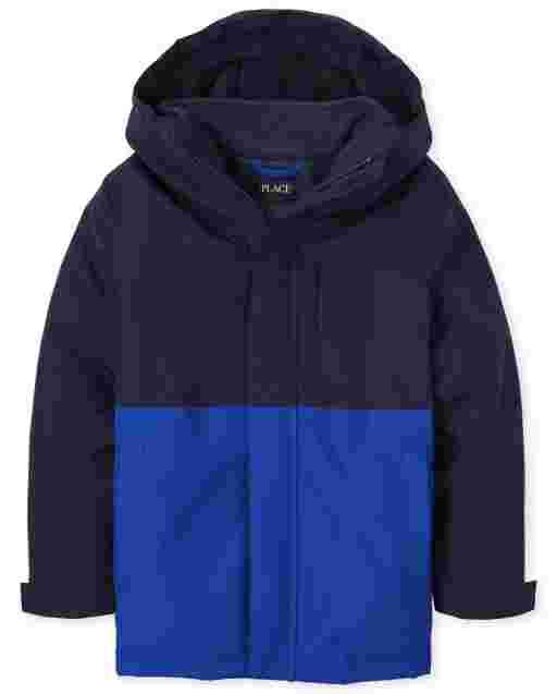 Boys Long Sleeve 3 In 1 Jacket