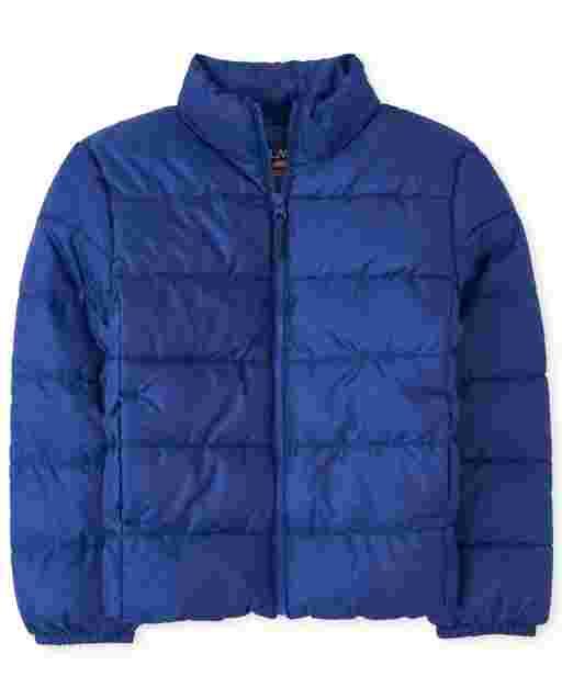Boys Long Sleeve Puffer Jacket