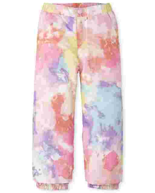 Girls Print Snow Pants