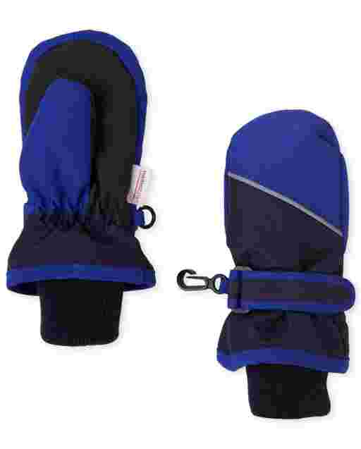 Toddler Boys Colorblock Ski Mittens