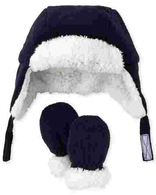 Baby Boys Fleece Trapper Hat