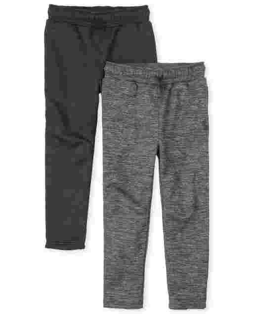 Boys PLACE Sport Knit Performance Pants 2-Pack