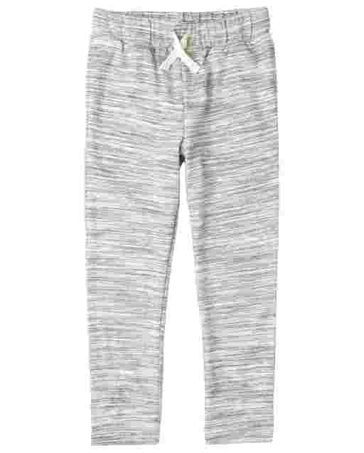 Boys Active Marled French Terry Jogger Pants
