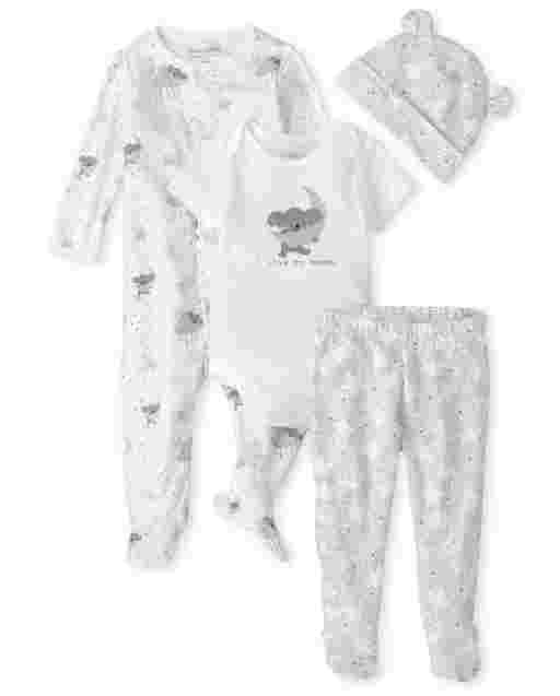 Unisex Baby Koala Star 4-Piece Take Me Home Set