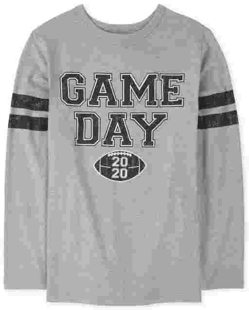 Camiseta unisex con estampado ' fútbol a juego de la familia ' League All Star ' manga larga a juego para niños