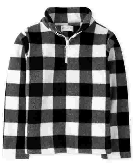 Girls Long Sleeve Microfleece Half Zip Pullover