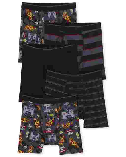 Boys Food Boxer Briefs 5-Pack