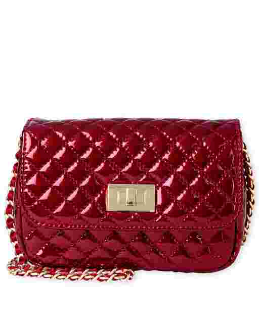 Girls Glitter Quilted Bag
