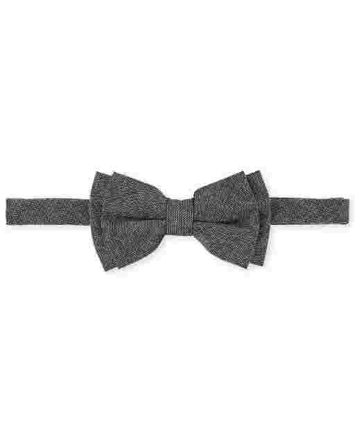 Boys Chambray Bow Tie