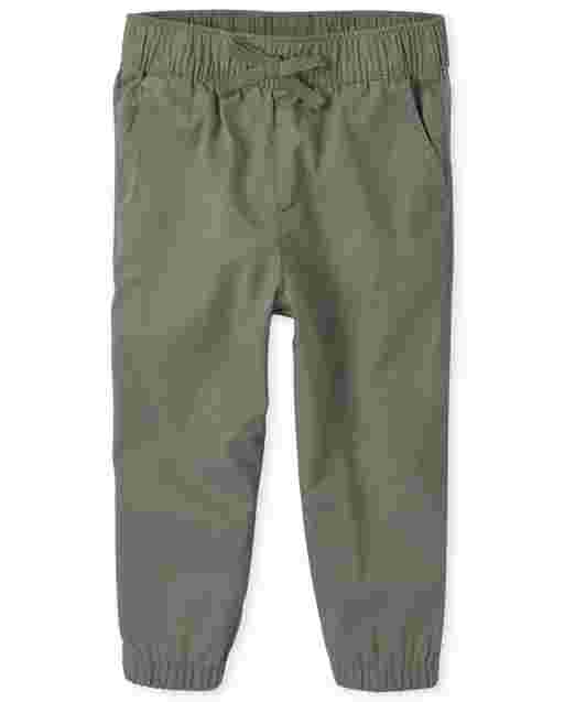 Baby And Toddler Girls Woven Pull On Beach Pants