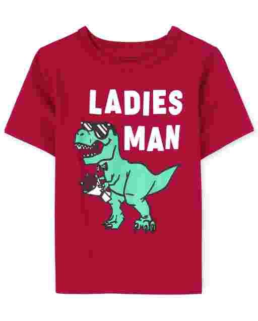Camiseta estampada para hombre y mujer para bebés y niños pequeños
