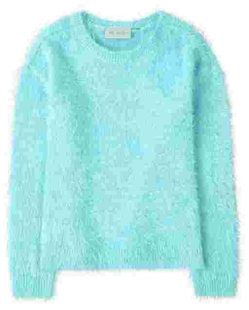 Suéter de pestañas para niñas