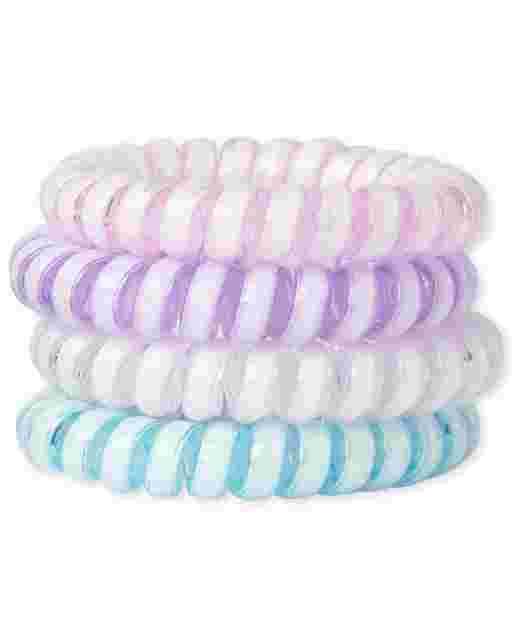 Girls Coil Bracelet 4-Pack
