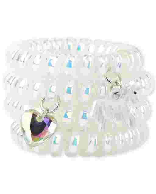 Girls Unicorn Coil Bracelet 3-Pack