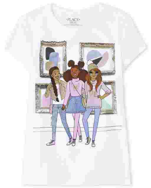 Camiseta estampada Girls Squad