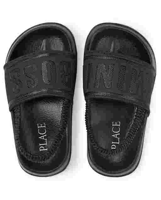 Toddler Boys Mini Boss Slides