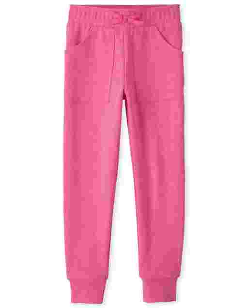 Girls Active French Terry Jogger Pants