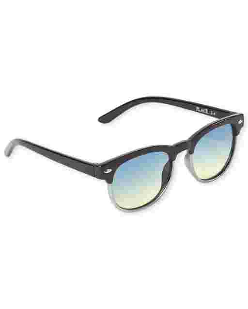 Toddler Boys Retro Sunglasses