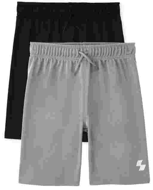 Boys PLACE Sport Knit Basketball Shorts 2-Pack