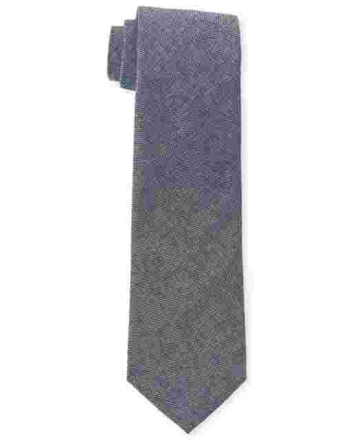 Boys Chambray Tie