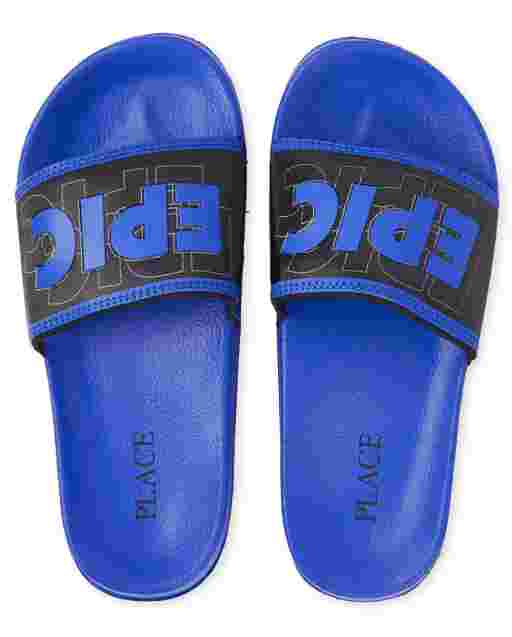 Boys 'Epic' Slides