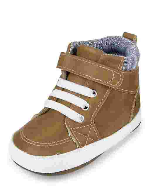 Baby Boys Mid Top Sneakers