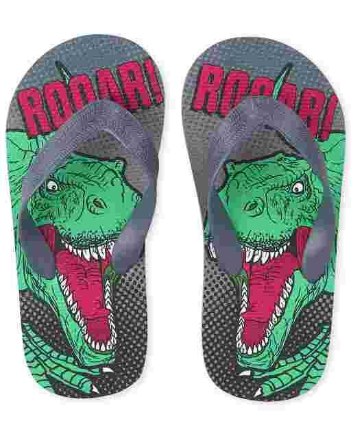 Chanclas Dino Roar para niño