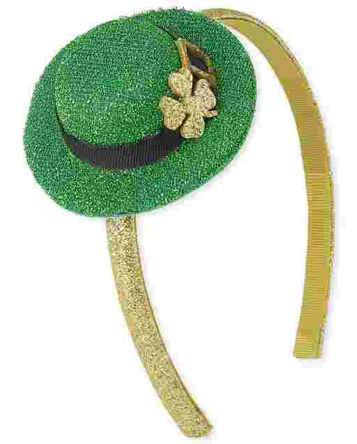 Girls St. Patrick's Day Hat Headband