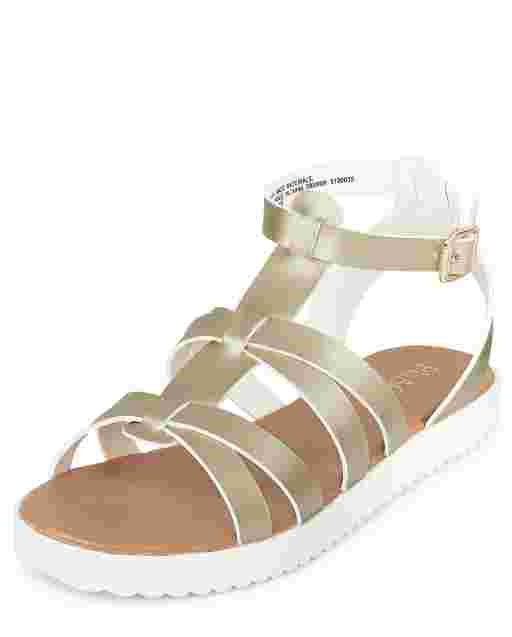 Girls Strappy Sandals