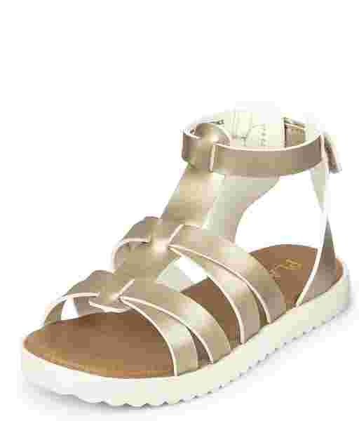 Toddler Girls Strappy Gladiator Sandals