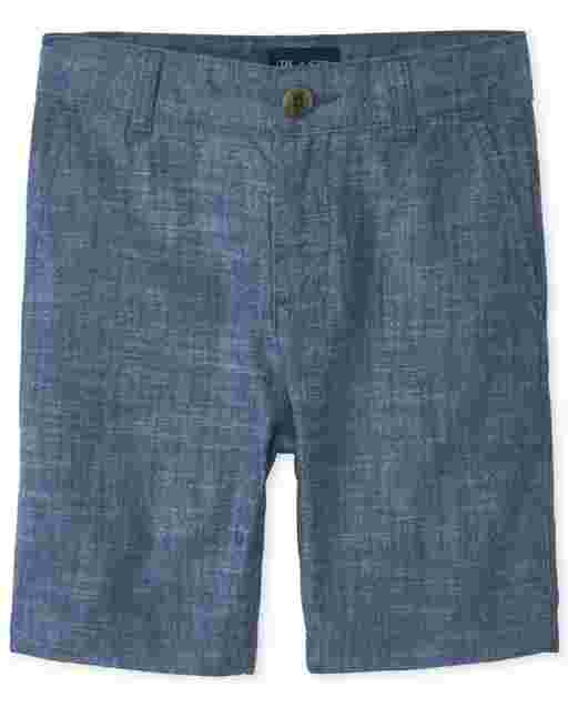 Boys Chambray Shorts
