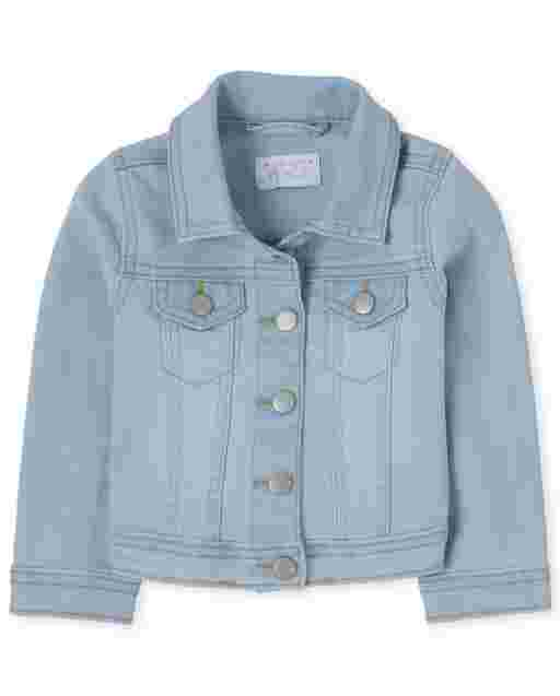 Baby And Toddler Girls Long Sleeve Denim Jacket