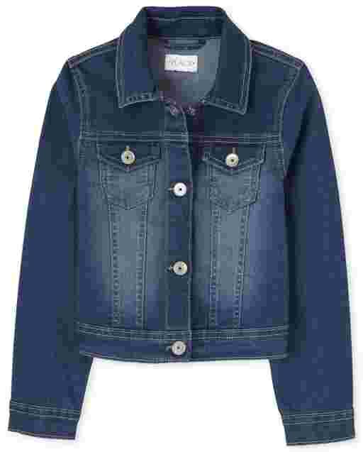 Girls Long Sleeve Denim Jacket